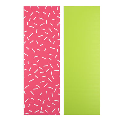Strawberry Sprinkle Yoga Mat