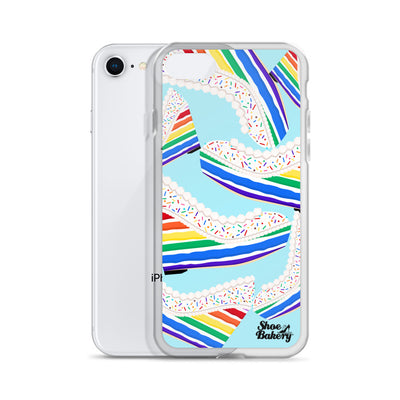 Rainbow Wedge iPhone Case