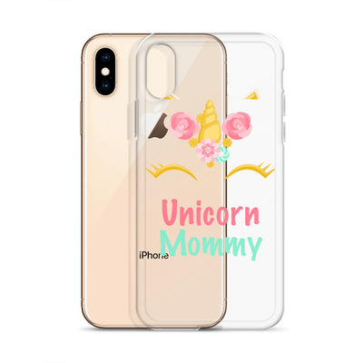 Unicorn Mommy iPhone Case