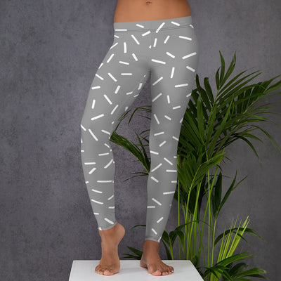 Grey Sprinkle Leggings
