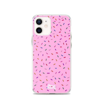 Sprinkles Party (Pink) iPhone Case