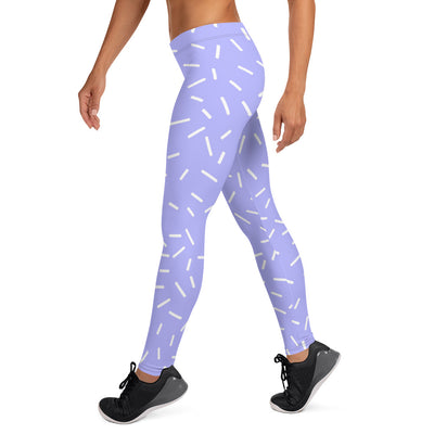 Lavender Sprinkle Leggings