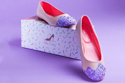 Lavender Scented Jimmie Sprinkle Flats