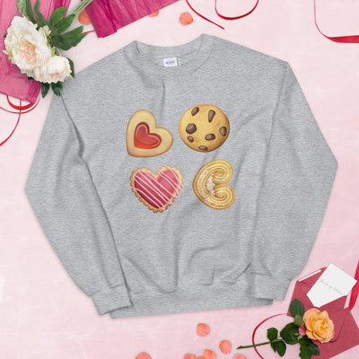 Love Cookie Unisex Sweatshirt