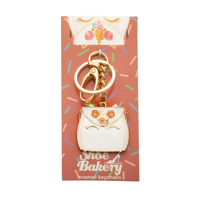 Unicorn Cake Bag Keychain
