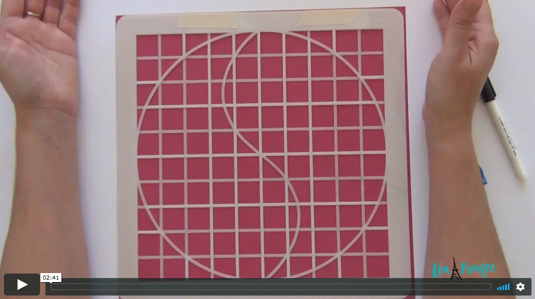 How to combine the grid with other stencils