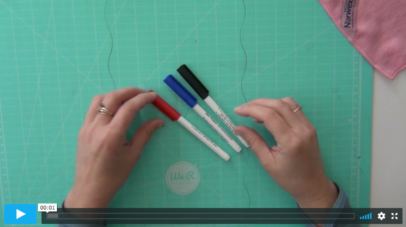 2 tips on how to use the colored dry erase markers