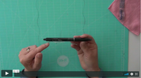 The trick for opening your erasable pen