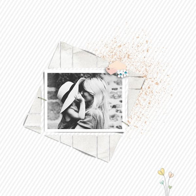 Seventeen 3 Digital Scrapbook Template