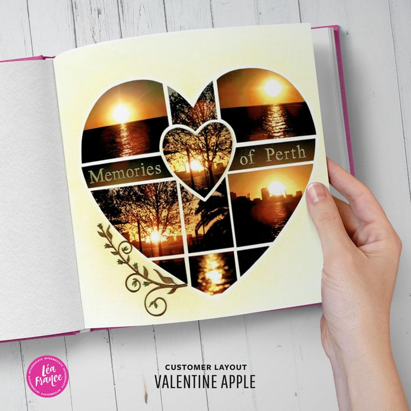 Valentine Apple - Seasonal Léa France® Stencil