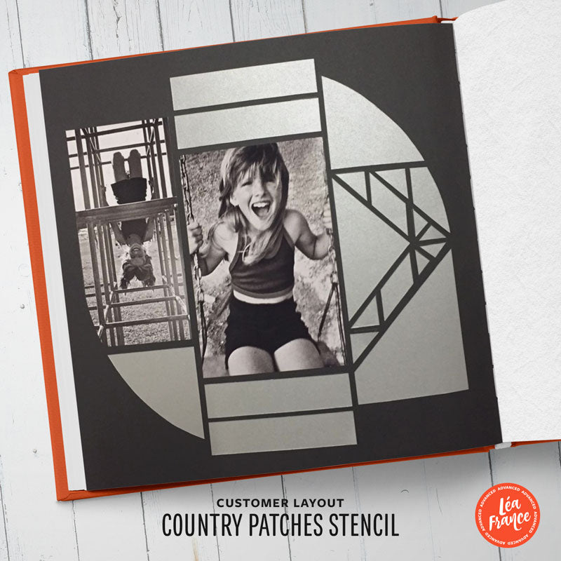 Country Patches Léa France® Stencil