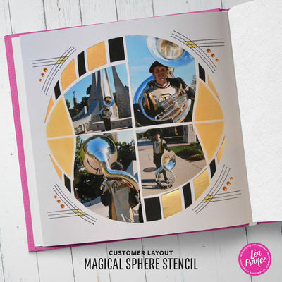 Magical Sphere Stencil