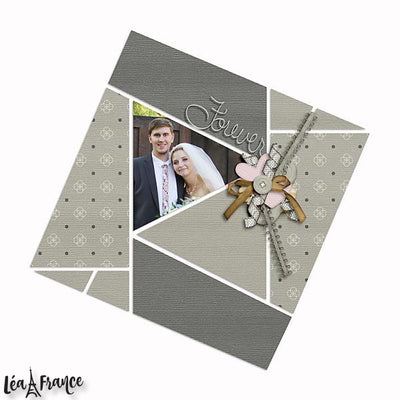 Seventeen 2 Digital Scrapbook Template