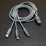3-in-1 Charging USB Cable