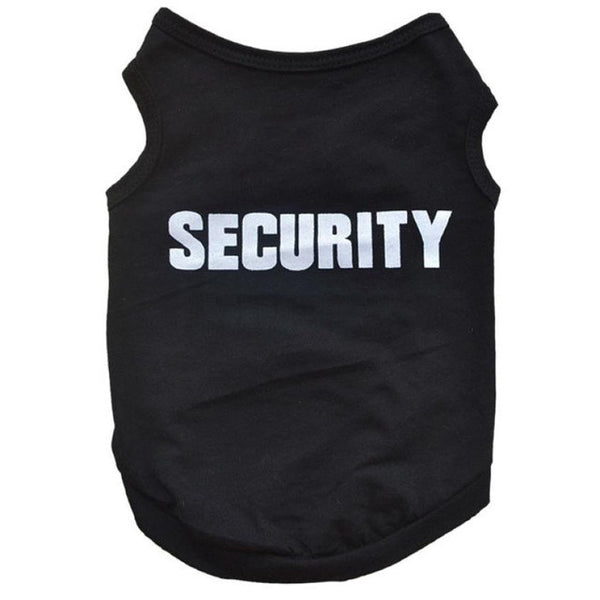 Security Dog Vest
