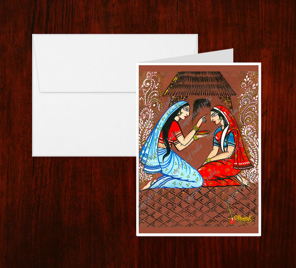 Sindoor Greeting Card