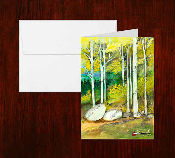 Scenerey Greeting Card