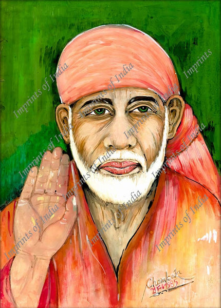 Sai Baba of Shirdi, an Indian spiritual master