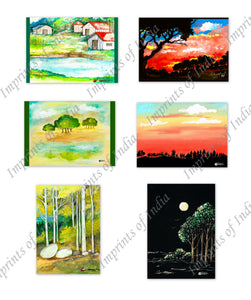 Scenerey Greeting Card Set