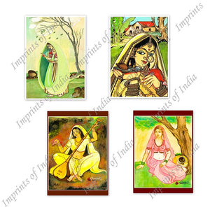 Pooja Greeting Card Set