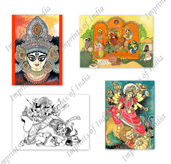 Durga Greeting Card Set