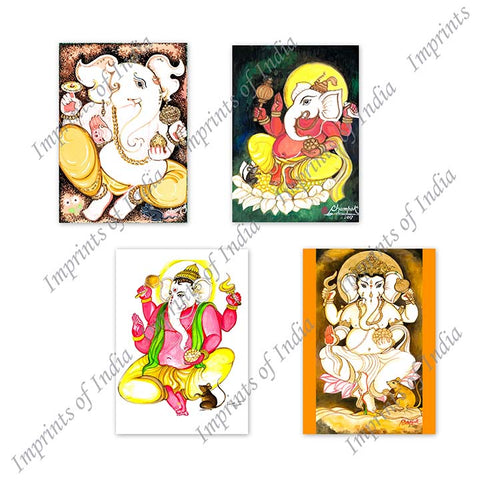Ganesha Greeting Card Set