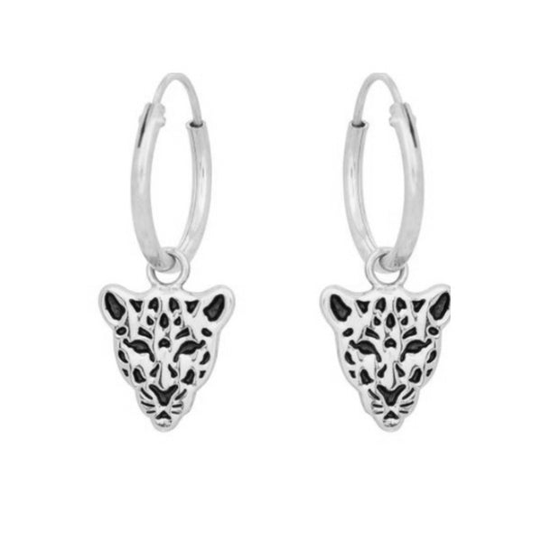 ARITO JAGUAR SILVER EARRINGS