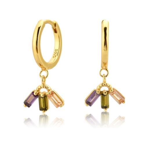 GOLD LONDON EARRINGS