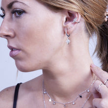 Load image into Gallery viewer, EAR CUFF ESTRELLA DEL NORTE PLATA - DRAMMAS