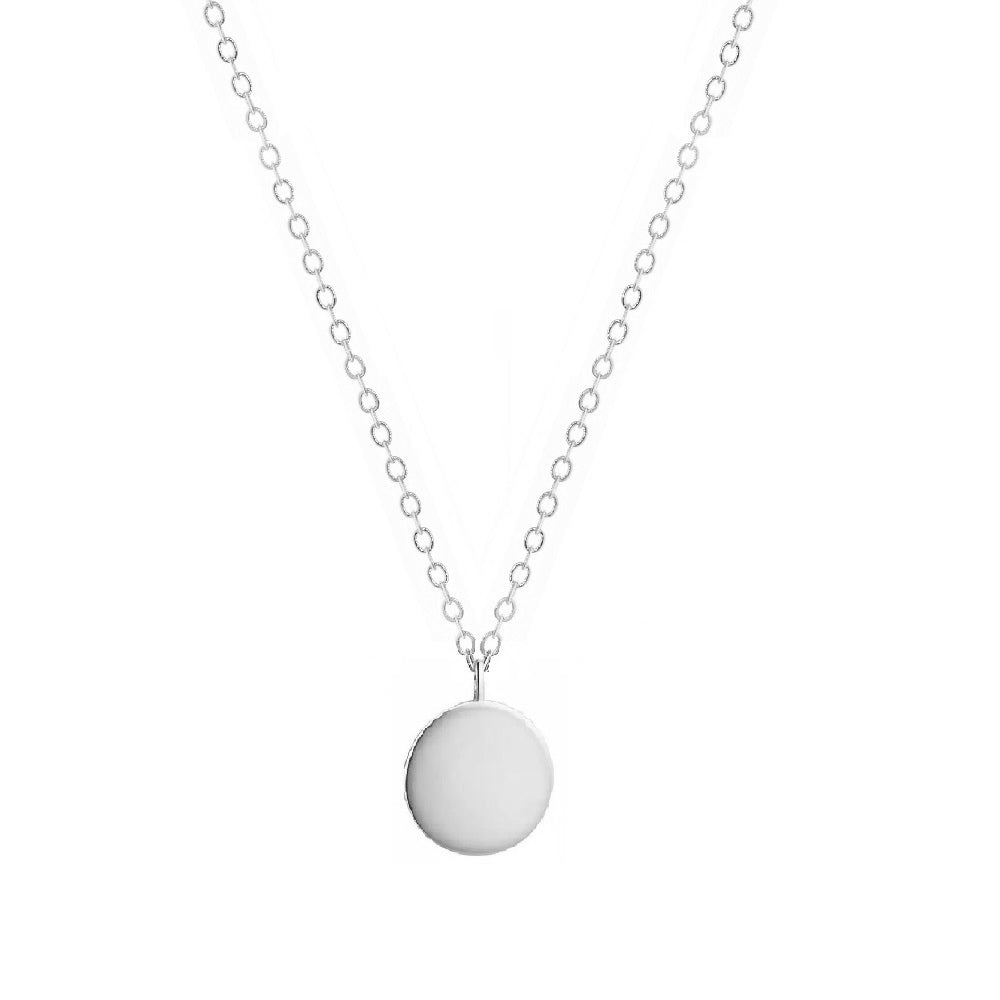 COLLAR FULL MOON PLATA - DRAMMAS