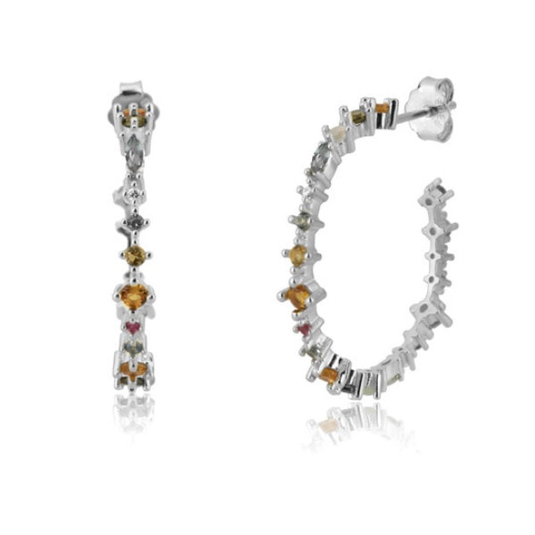 MILAN SILVER EARRINGS
