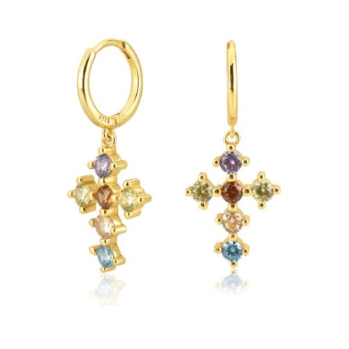 GOLD ROME EARRINGS