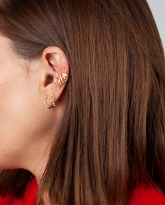 GOLD BRILLIANT EARRINGS