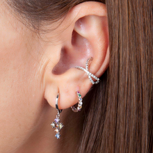 Load image into Gallery viewer, ROMA SILVER EARRINGS