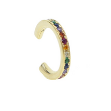 Load image into Gallery viewer, EAR CUFF ARCOIRIS ORO - DRAMMAS