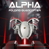 RC helicopter Mini Drone 2.4GHZ 4CH 6-Axis gyro RC Quadcopter Kai Deng K130 ALPHA Folding Transformable Egg Drone RTF
