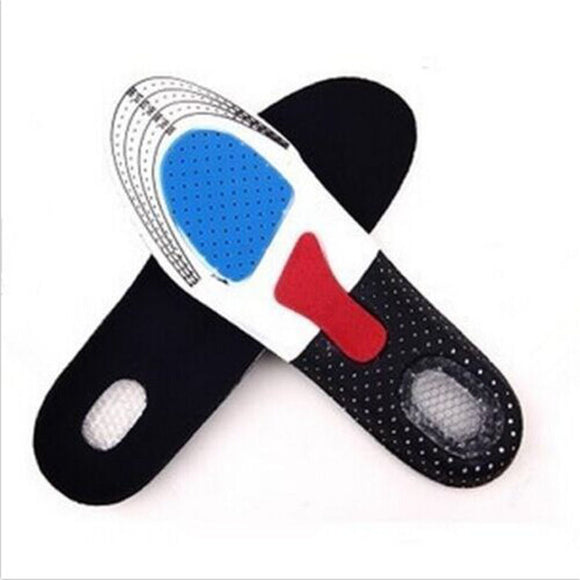 Pad Sport Running Gel Insoles Insert Cushion for Men Women Foot Care Hot New