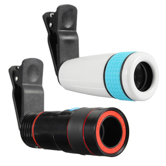 12x Optical Zoom Lens For iPhone Android