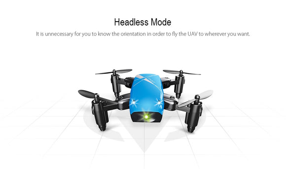 AEOFUN S9HW Mini Drone With Camera HD S9 Foldable