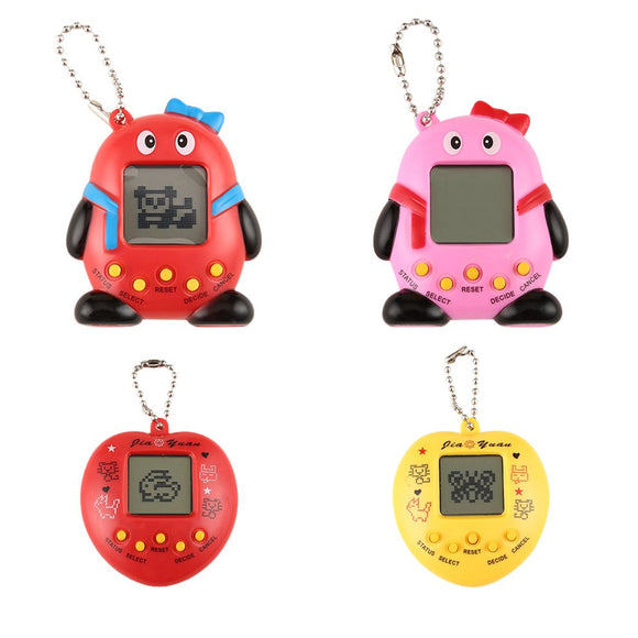 Funny Cracked Dinosaur Eggs Shaped Tumbler Electronic E-pet For Children Style Tamagotchi