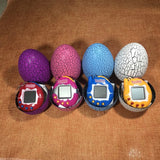 Funny Cracked Dinosaur Eggs Shaped Tumbler Electronic E-pet Style Tamagotchi