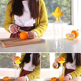 Manual Lemon Juicer Squeezer, Sombrero Citrus Juicer