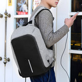 Anti-Theft Backpack waterproof  USB Charging