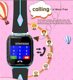 Child Waterproof GPS Smart Watch with Camera