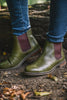 Cipriata Leather Chelsea Boots - Olive Olive UK 3
