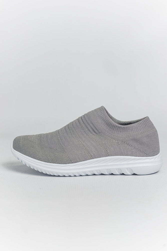 Load image into Gallery viewer, Cipriata Sparkle Slip-on Trainers - Silver