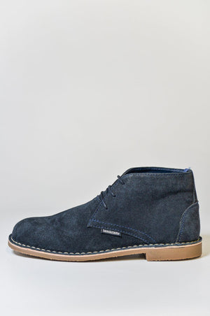 Load image into Gallery viewer, Lambretta Suede Desert Boots - Navy
