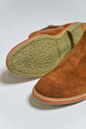 Roamers Suede Chelsea Boots - Sand