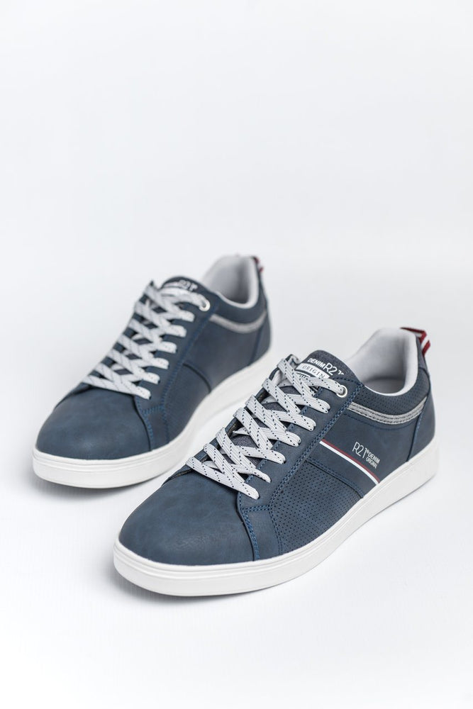 Route 21 Casual Trainer - Navy