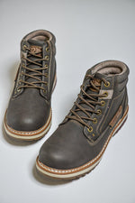 Route 21 Casual Winter Style Boots - Dark Brown